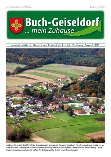 (neben Jet-Tankstelle) Tel. 03332/66110 e-mail - Gemeinde Buch ...