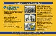 DoveBid Private Treaty Sale