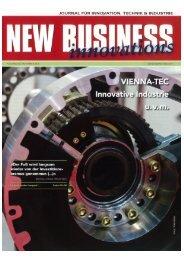 NEW BUSINESS innovations - Zuverlässige Qualität ... - SCHIEBEL