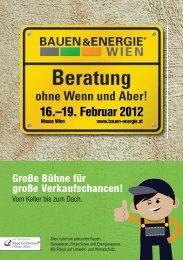 Ausstellerinfo - Bauen & Energie Wien