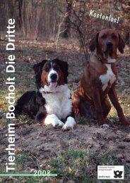 Tierschutzverein Bocholt - dertierschutzverlag.de