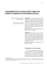 fundamentos da educação como um direito humano de ... - Reid.org.br