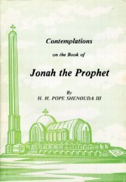 Contemplations on the Book of Jonah the Prophet - Church of the ...