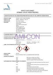 safety data sheet mtm®44-1 epoxy resin prepreg - AMI-CON