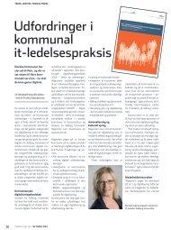 Udfordringer i kommunal it-ledelsespraksis - KTC