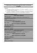 Critères de sélection - Page 2