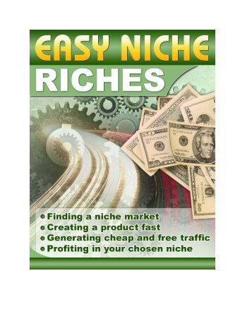 Chapter 1 - What is a Niche Market? - Are You In It To Win It