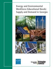 Energy and Environmental Workforce Educational Needs: Supply ...