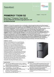 PRIMERGY TX200 S2 - hardware-trade.net