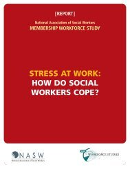 Stress At Work: How Do Social Workers Cope? - Center for ...