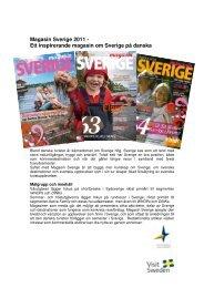 Magasin Sverige 2011 - Ett inspirerande magasin om Sverige på ...