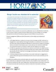 Version PDF(500 MB, 3 pages) - Horizons de politiques