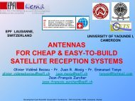 antennas for cheap & easy-to-build satellite reception systems