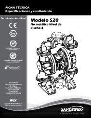 Modelo S20 No metálica Nivel de diseño 3