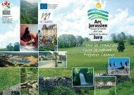 Broschure Paysage de l'année Arc jurassien - Naturfreunde ...