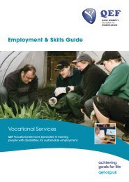 Employment & Skills Guide - QEF