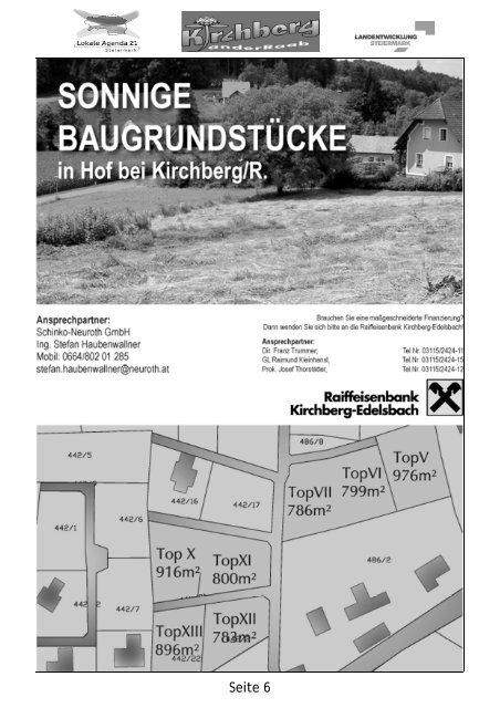 für Lehrlinge - Gemeinde Kirchberg an der Raab