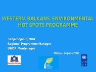 Programme Results - general 1.49 Mb - Western Balkans ...