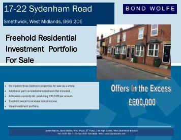 17-22 Sydenham Road Smethwick - Bond Wolfe
