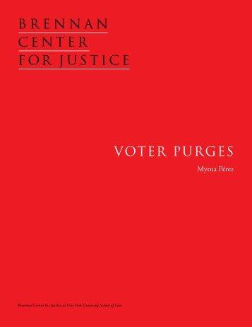 Voter Purges