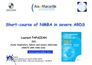 NMBA and ARDS - SRLF