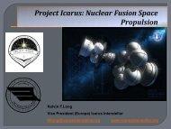 Project Icarus: Nuclear Fusion Space Propulsion - Icarus Interstellar