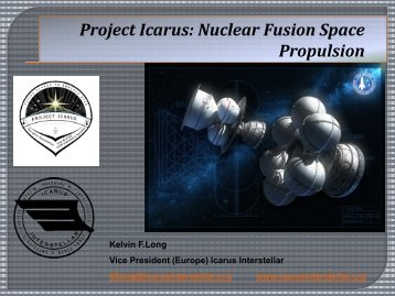 Project Icarus: Nuclear Fusion Space Propulsion - Icarus Interstellar