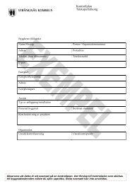 Kontrollplan Takkupa/balkong