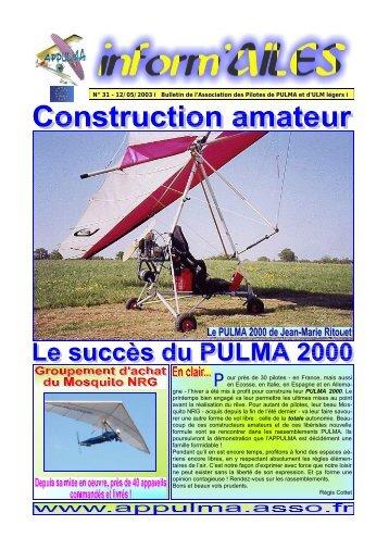 N° 31 - 12/05/2003 l Bulletin de l'Association des Pilotes de ... - Free