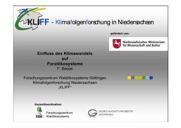 Vortrag LBEG 05.05.2011 - KLIFF