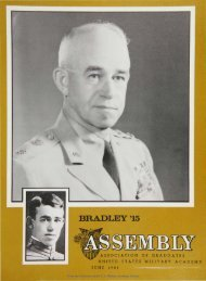 BRADLEY '15 - USMA Library Digital Collections - West Point
