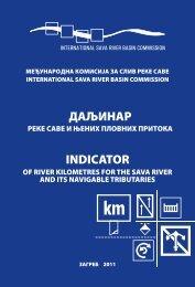 Даљинар реке Саве и нјених пловних притока - International Sava ...