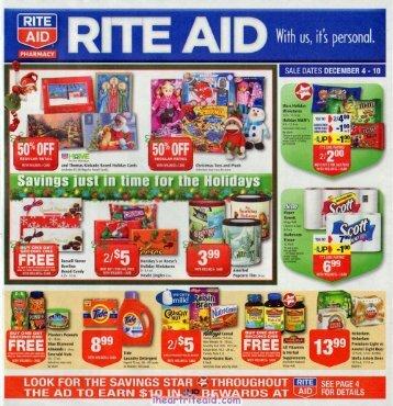 i heart rite aid: 12/04 - 12/10 ad