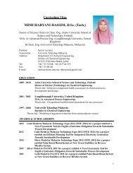 Mimi Haryani Hassim - Science Development Network