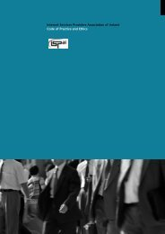 Code of Practice and Ethics - ISPAI