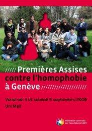 Programme - GayRomandie.ch