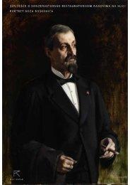 Izvješće o konzervatorsko-restauratorskim radovima na slici portret ...