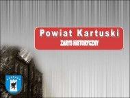 Prezentacja powiatu (pdf) - Powiat Kartuski