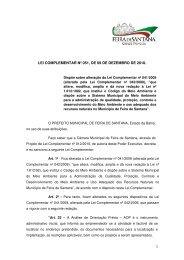lei complementar nº 051, de 09 de dezembro de 2010. - Prefeitura ...