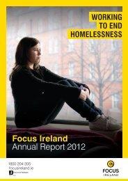 Focus Ireland Annual Report 2012