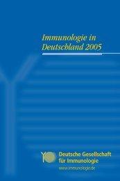 Immunologie in Deutschland 2005 - DGfI
