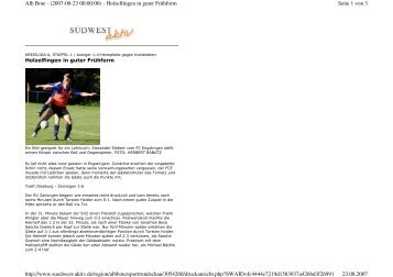 Seite 1 von 3 Alb Bote - (2007-08-23 00:00:00) - Holzelfingen in ...
