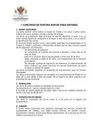 i concurso de pintura rapida para mayores - Ayuntamiento de Toledo