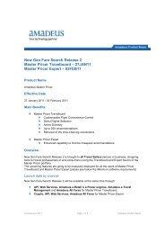 2011-02-04 New Gen Fare Search Release 2.pdf - Amadeus