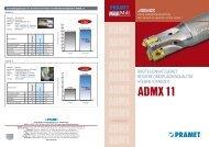 ADMX11 DE.indd - Pramet Tools sro