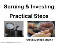 Spruing & Investing Practical Steps - Randwick College Wiki