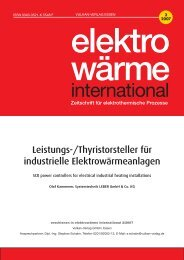 elektro wärme - Systemtechnik Leber