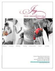WEDDING CELEBRATIONS - Marriott