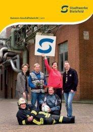 Konzern-Geschäftsbericht | 2011 - Stadtwerke Bielefeld