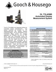 OL 770-ADMS Automated Display Measurement System (Bulletin 82)